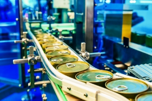 Conveyor Manufacturing in food and beverage industry