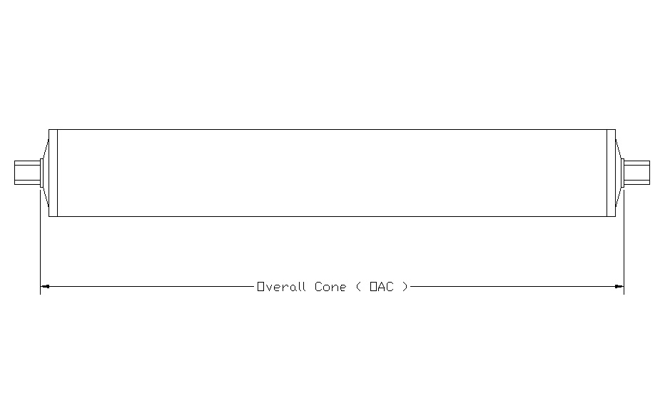 measuring overall cone (OAC) diagram